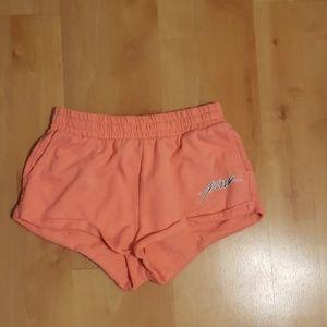 Pink soft shorts
